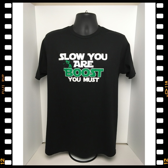 Lane Seven Other - T-Shirt~Yoda~Automotive~Turbo~Slow~Boost~You~Must~